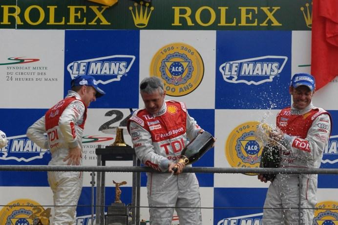 Allan McNish, Dindo Capello, Tom Kristensen, Le Mans 24 Hours 2008