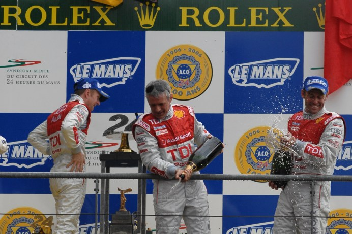 Allan McNish, Dindo Capello, Tom Kristensen, Le Mans 24 Hours 2008