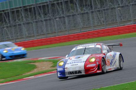 Porsche 911, Silverstone ILMC 2011