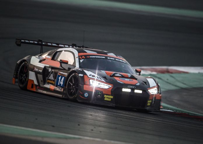 January Preview - Audi R8 GT3 at Dubai