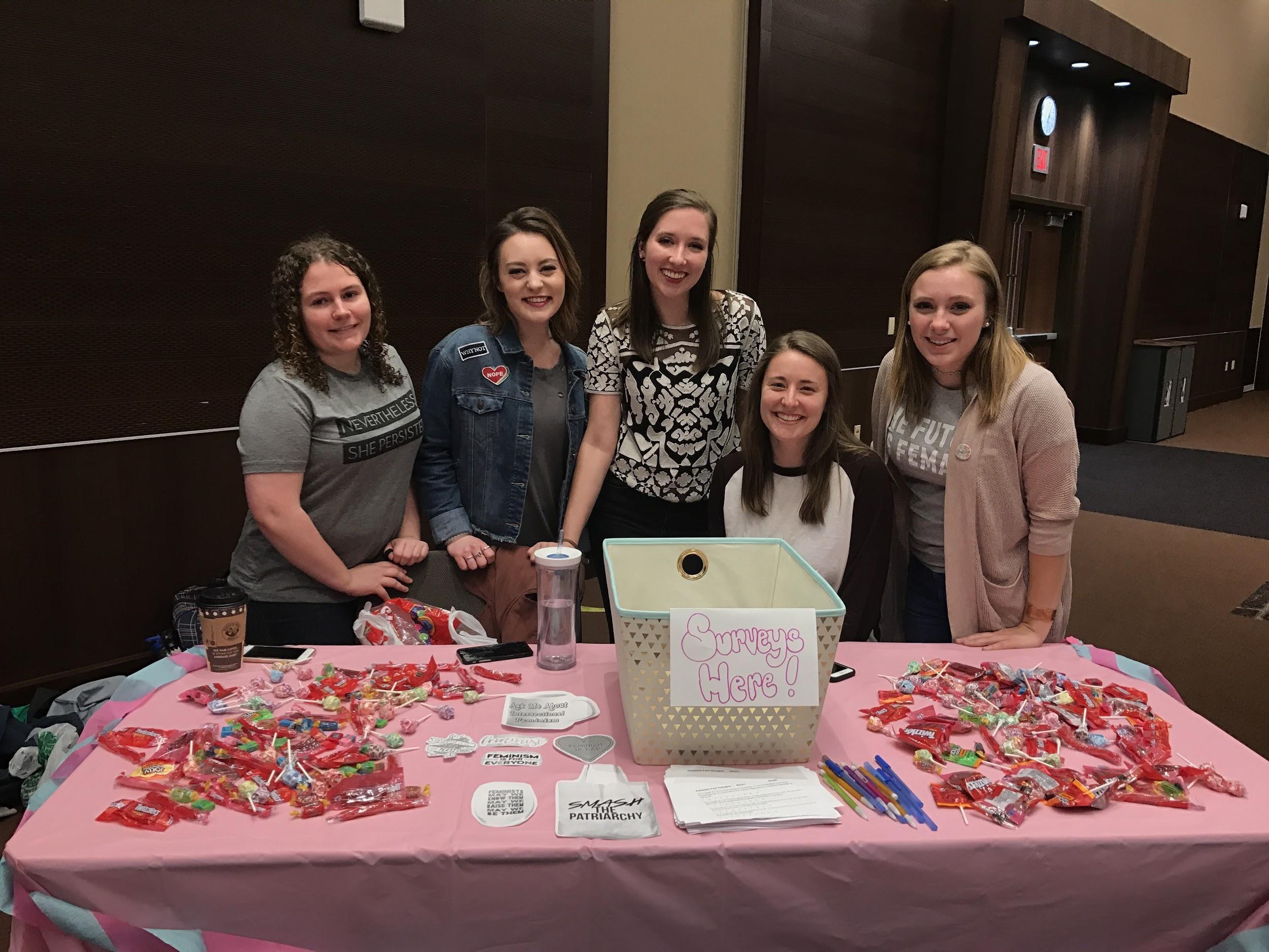 UW-L students host first Feminism Fest