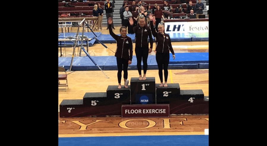 UWL+Gymnastics+was+victorious+Firday
