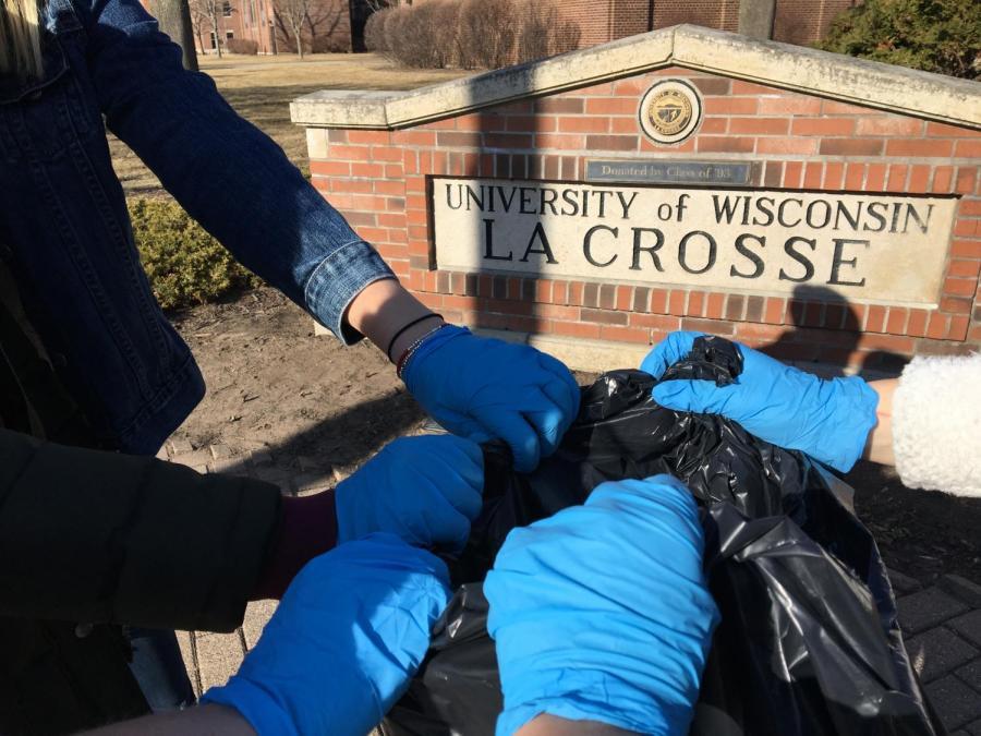 UWL's First Campus Clean-Up