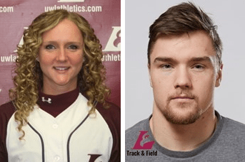 Student-Athlete of the Week: Caitlyn Hughes and Seth Holden