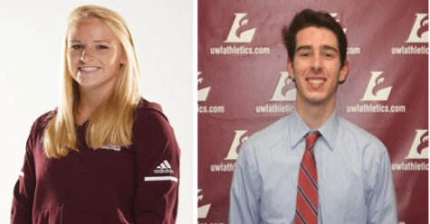Student-Athletes of the Week: Kacey Mortenson and Sam Diedrich