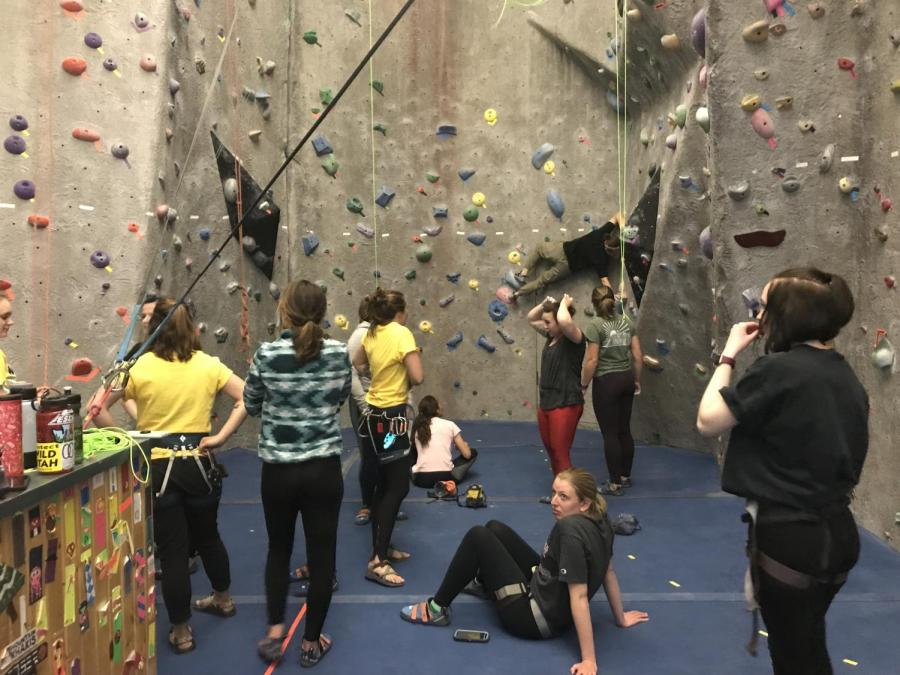 Women+on+the+Wall+climbers.+Photo+by+Kayleigh+Marshall.+