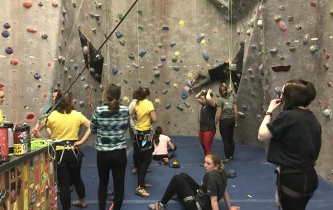 Women on the wall empowers female students to climb