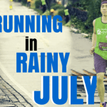 Nothing is Cooler than Running in Rainy July
