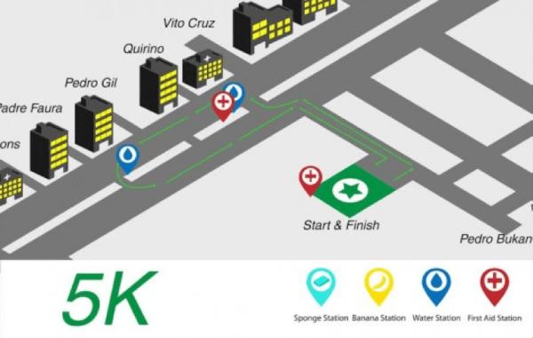 Entrep Run 2015_5K Race Route