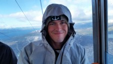 In the Gondola on the way down