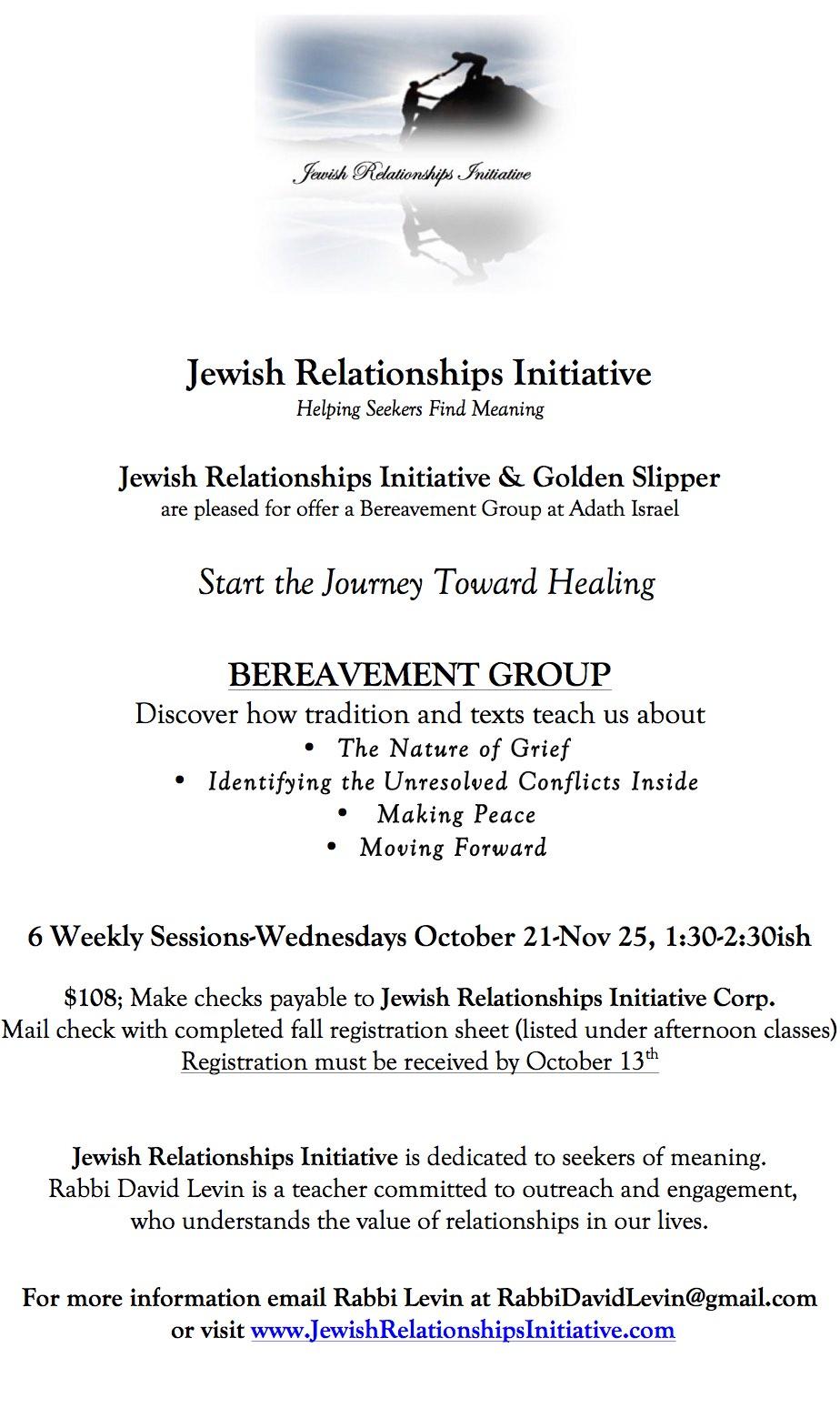 Bereavement group w GS