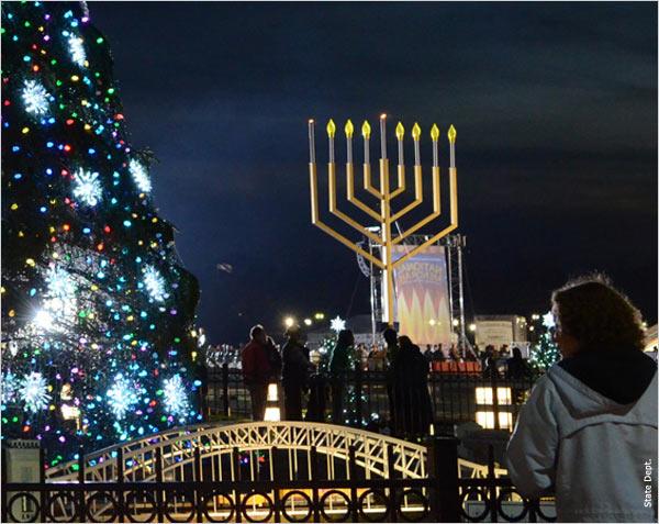 Jews Christmas Trees.Christmas Jewish Relationships Initiative