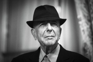 "Canadian singer and poet Leonard Cohen is pictured on January 16, 2012 in Paris. Leonard Cohen's new album ""Old Ideas"" will be released in France on January 30. AFP PHOTO / JOEL SAGET (Photo credit should read JOEL SAGET/AFP/Getty Images)"