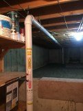 2nd suction point in crawlspace