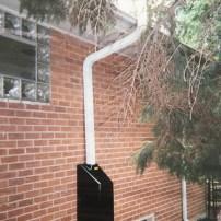 fan housing on outside of home