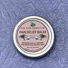 coconut pain relief balm in regular strength