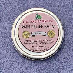 lemon pain relief balm in extra strength