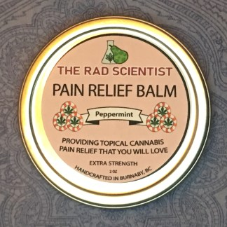 peppermint extra strength pain relief balm top