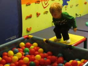 My favorite part was the ball pit!