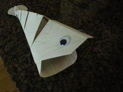 Fish sculpture -paper.