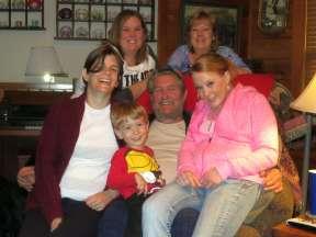 Me, GGP, Grandma Liz, Aunt Denise, Aunt Debbie, and Mommy!