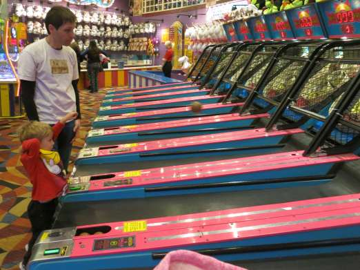 I'm not sure I played SkeeBall the right way...