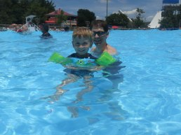And don't forget the wave pool!