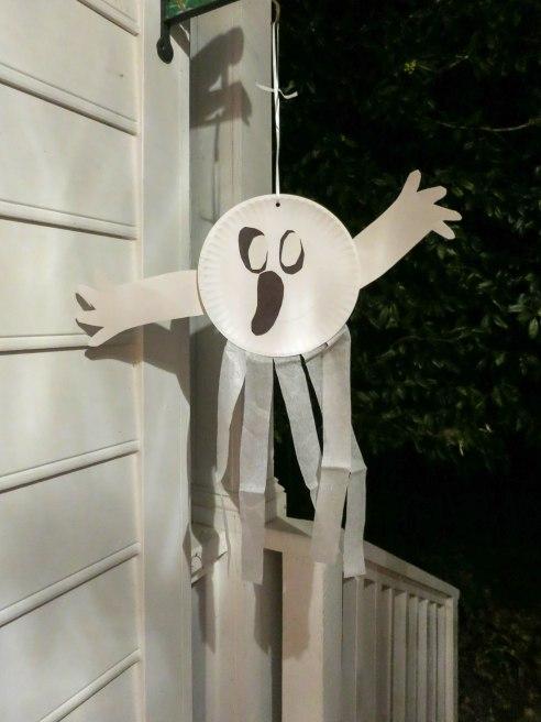 Boo! A Ghost! From preschool (M, Halloween)