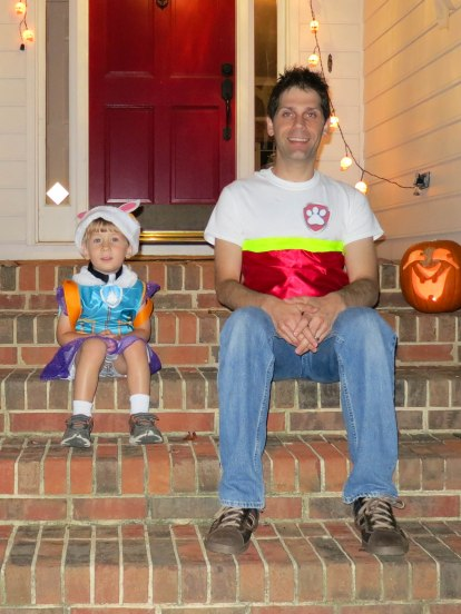 and of course, Halloween! Daddy dressed as Ryder.