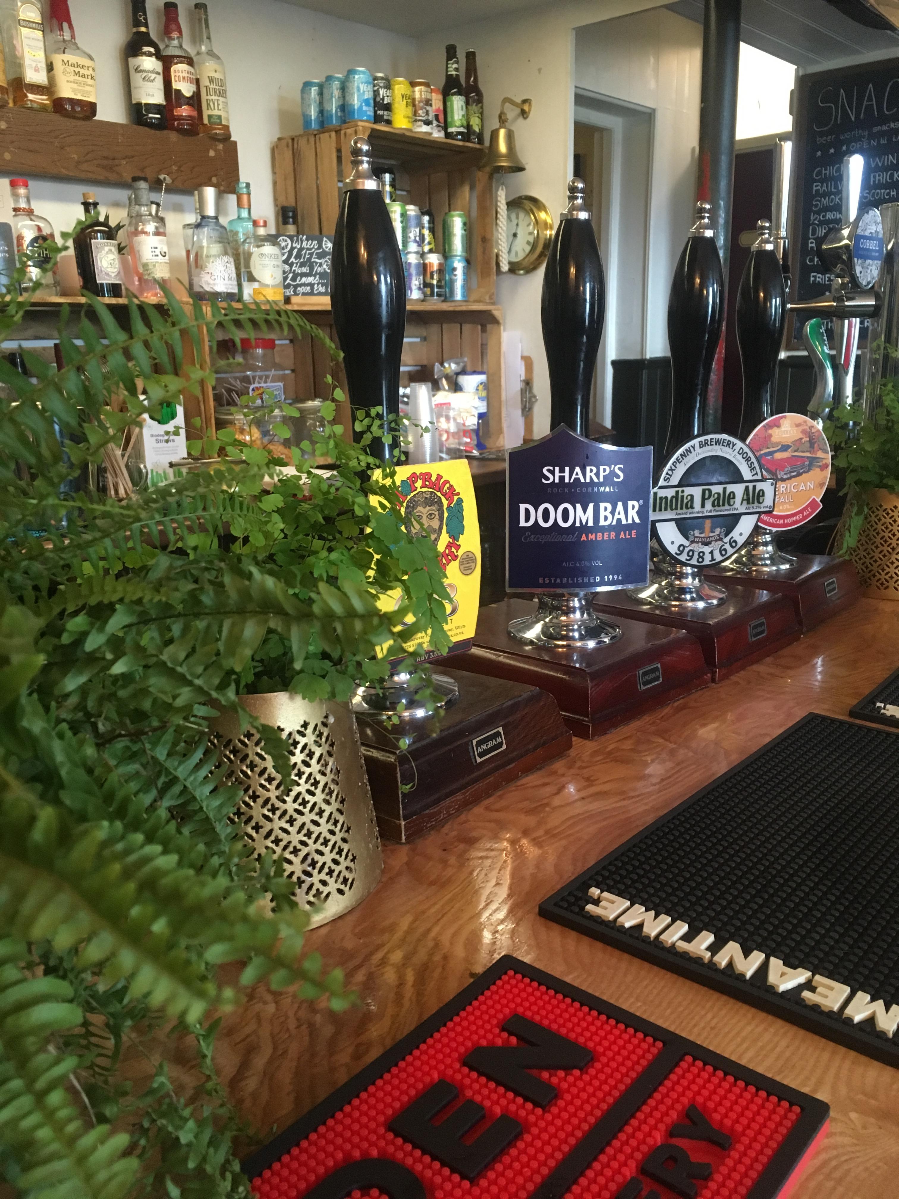 Ringwood Railway Craft Pub and Burger Joint- award winning cask ales