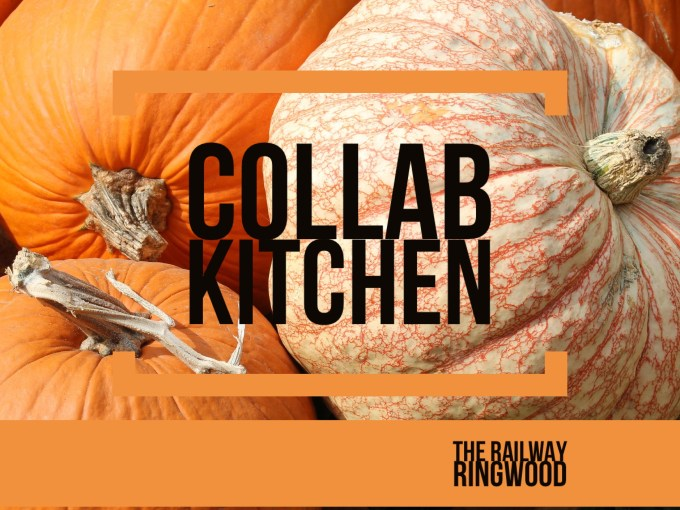 Halloween menu The railway in Ringwood and New Forest