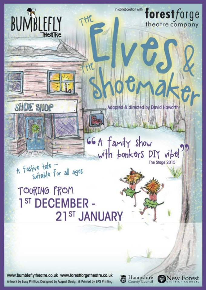 Ringwood theatre company presents magical Christmas family entertainment Elves and the Shoe maker