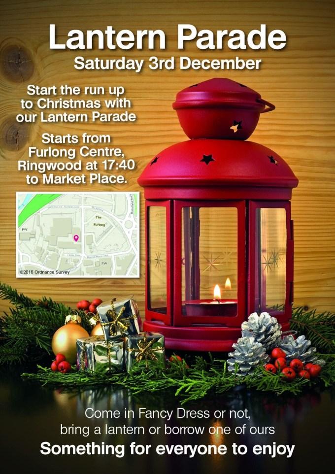 ringwood Christmas light switch on lantern parade information