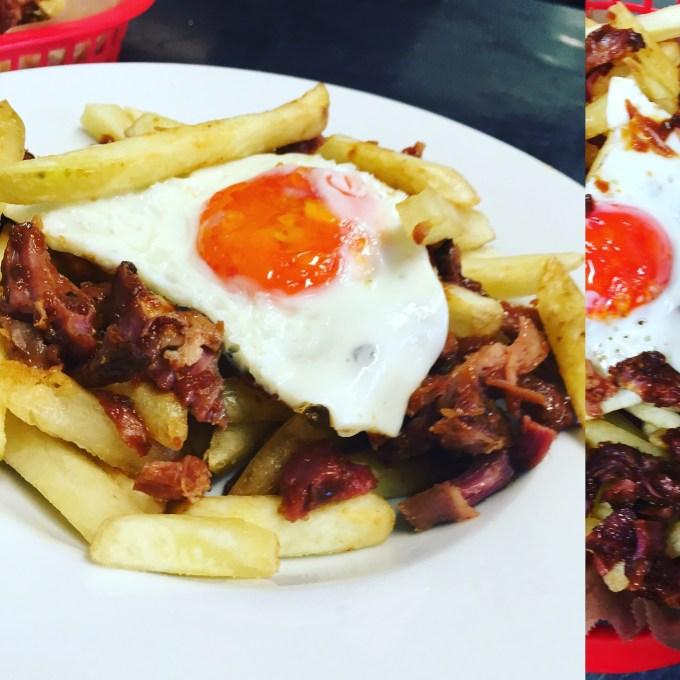 BBQ Ham egg Chips Ringwood Railway Pub