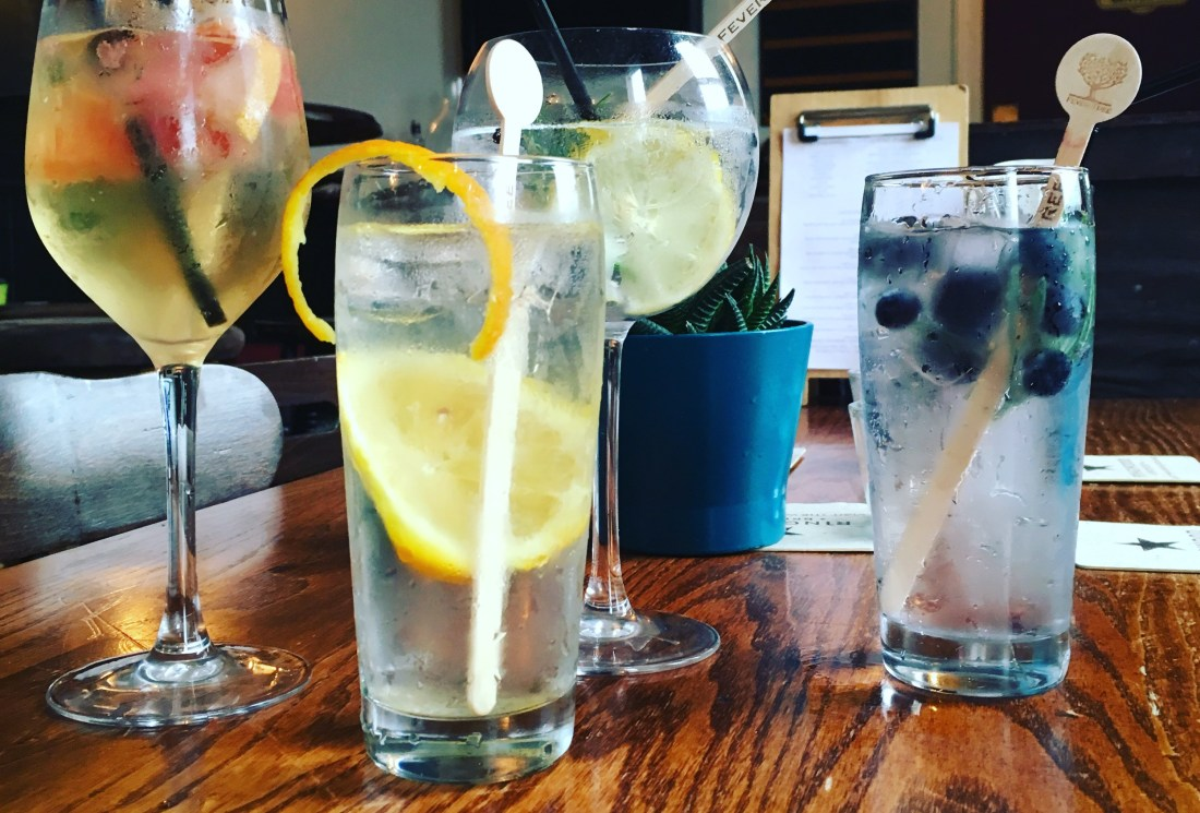 The Railway Ringwood Craft Gin and Tonics