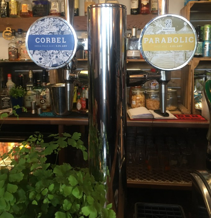 8 Arch take over the taps at The Railway Ringwood