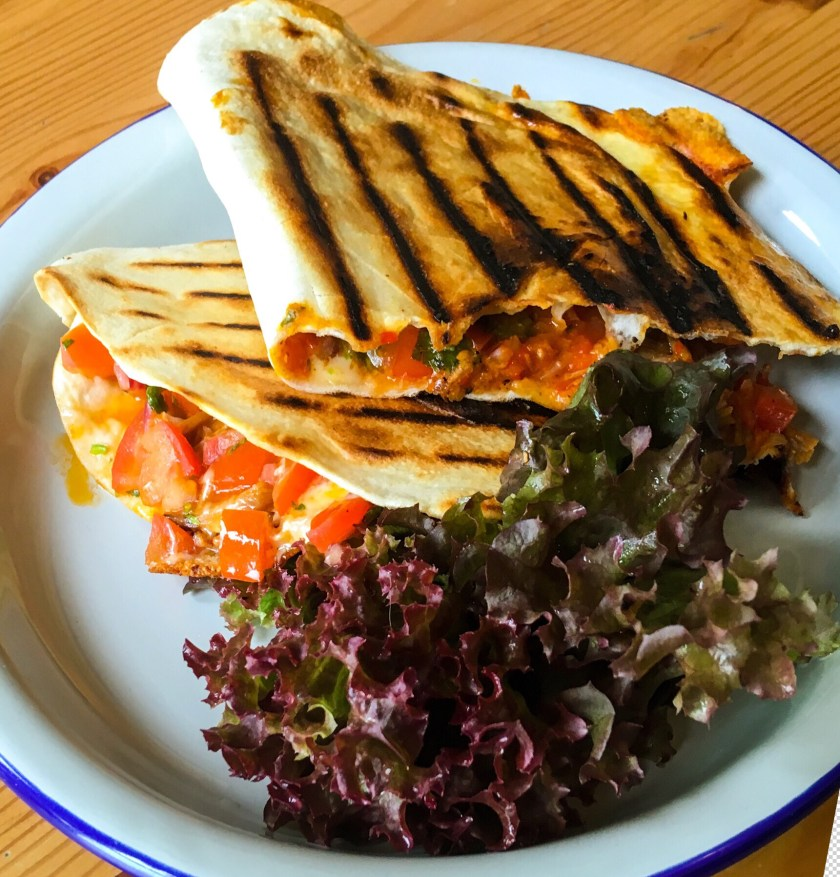 Hampshire Beef Brisket Chilli Quesadilla