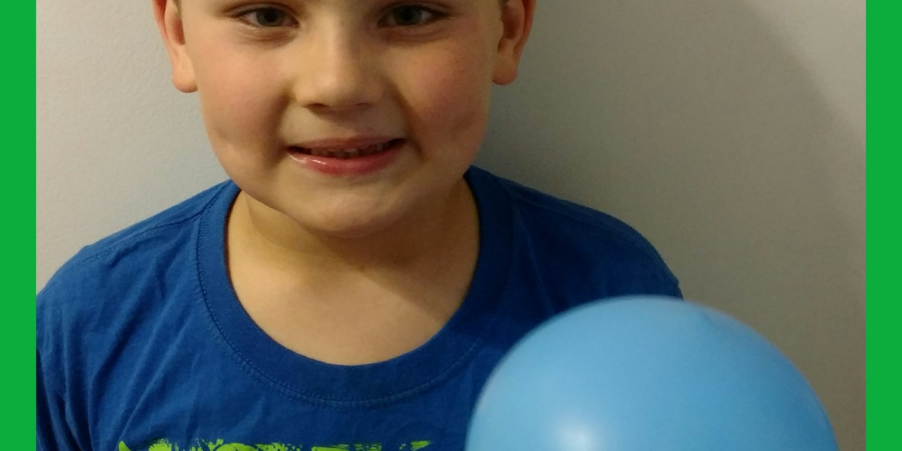 Science with Owen – Magic Balloon Experiment