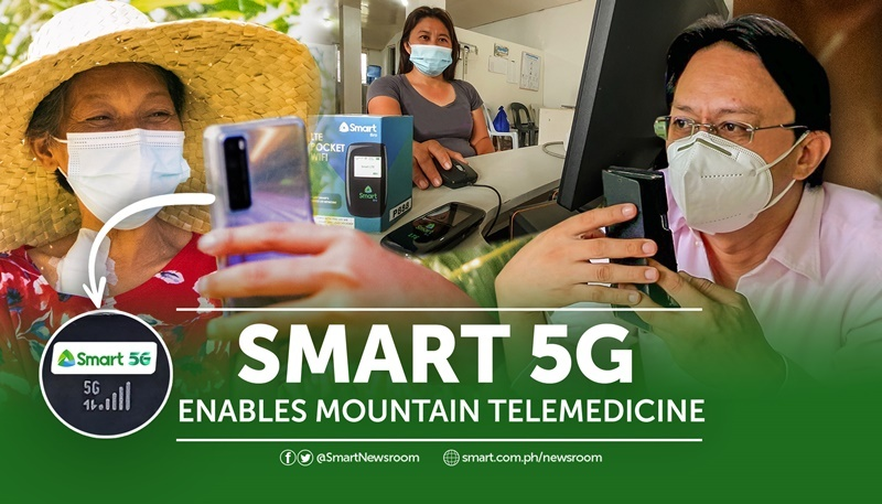 Smart's 5G Site In Argao Enables Mountain Telemedicine