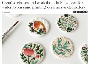 Honeycombers Creative Classes in Singapore