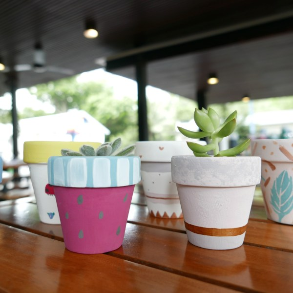 Painted Pots from Workshop