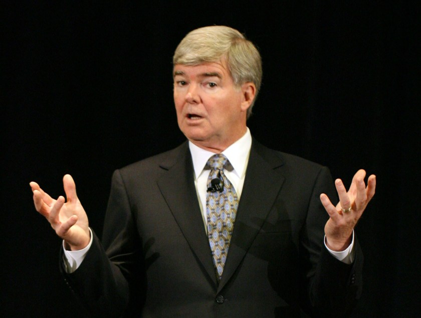 Mark Emmert, the president of the NCAA, has completely lost control of the association. (Brian Spurlock-USA TODAY Sports)