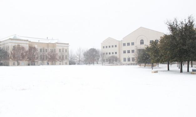 Winter weather remains at Wesleyan