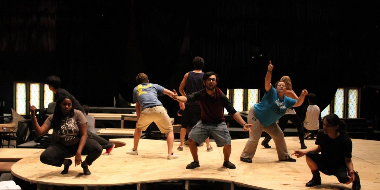 Theater Wesleyan preps Rent for annual musical