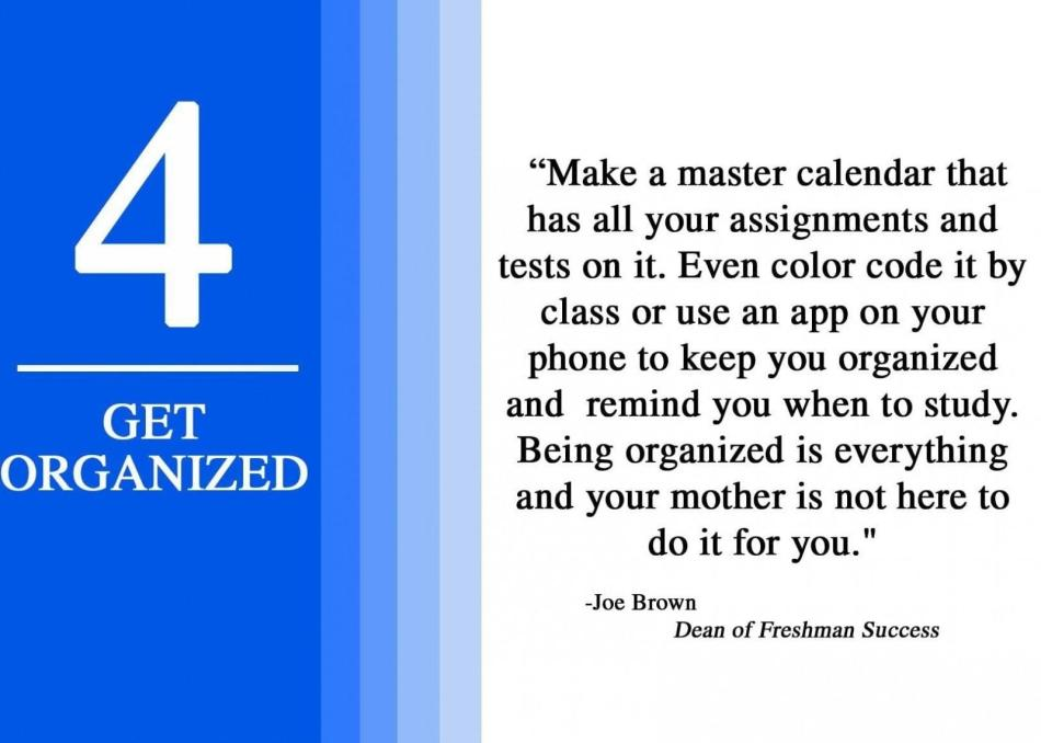 4 get organized
