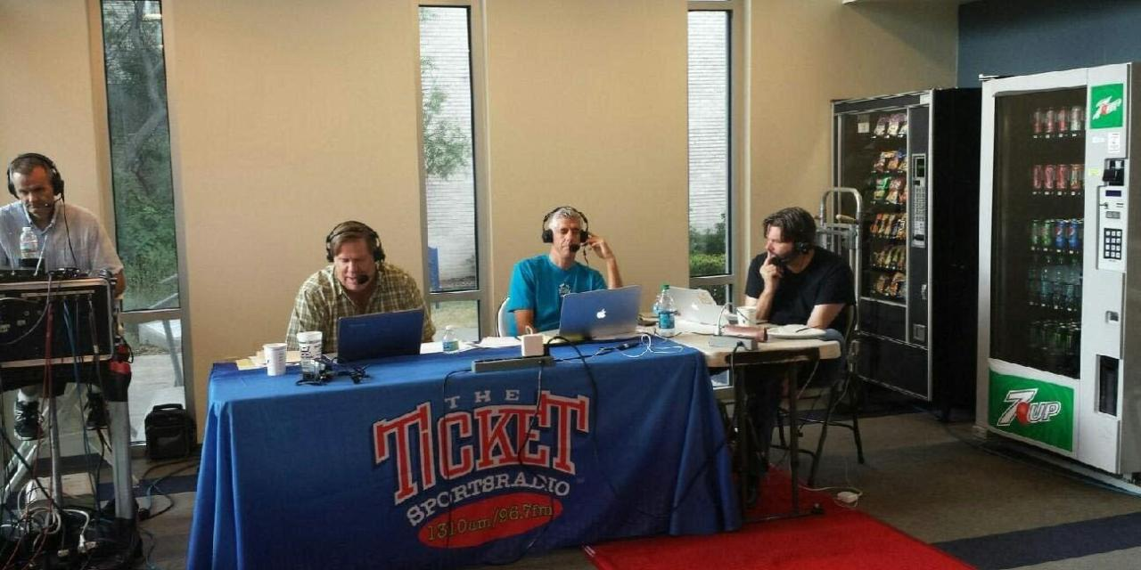 The Ticket airs live from Texas Wesleyan