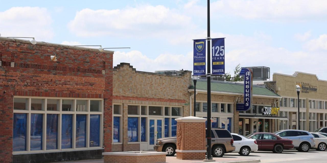 Wesleyan hopes to fill storefronts