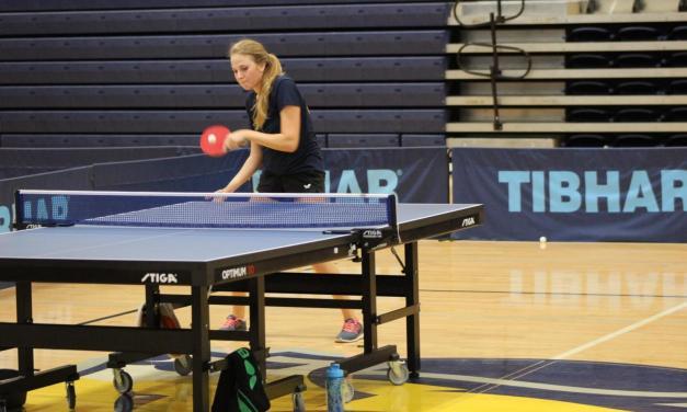 Table tennis welcomes 8 freshmen