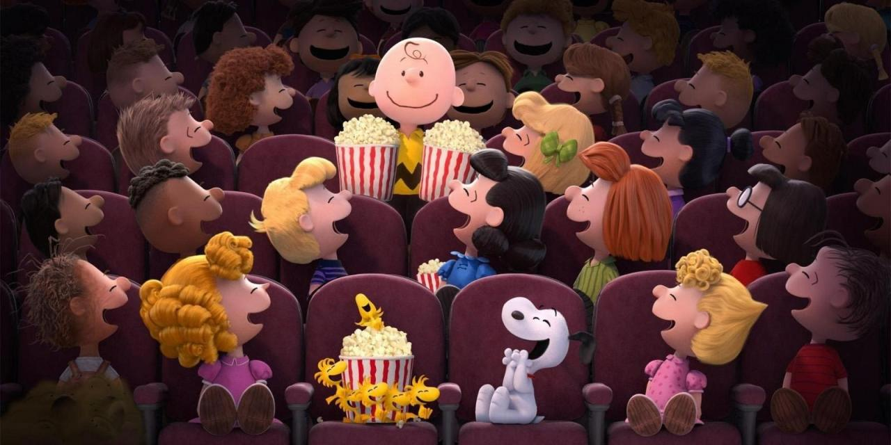 Fans are nutty for Peanuts movie
