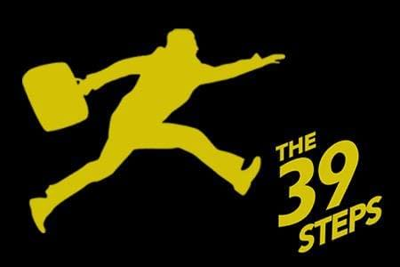 The 39 Steps offers mystery and comedy